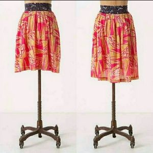 Anthropologie: Vanessa Virginia Tamarind Skirt